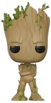 Funko Pop! Guardians Of The Galaxy Groot - #207 Verzamelfiguur