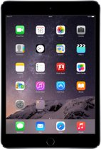 Apple iPad Mini 3 - Zwart/Grijs - 64GB - Tablet