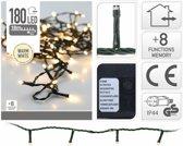 Kerstverlichting Warm Wit 180 LED met 8 Standen