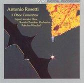 Oboe Concertos: Three Oboe Concerto