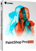 Corel PaintShop Pro 2019 - Nederlands / Engels / Frans - Windows