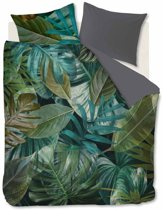 Beddinghouse Botanico - Dekbedovertrek - Lits-jumeaux - 240x200/220 cm + 2 kussenslopen 60x70 cm - Green