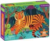 Mudpuppy 48 PC Mini Puzzle - Bengal Tiger