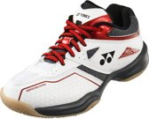 Yonex Badmintonschoenen Power Cushion 36 Wit/rood Junior Maat 35