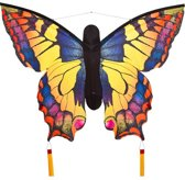 HQ Butterfly Kite Swallowtail Large Blauw Vlieger