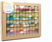 Scheepjes Stone Washed & River Washed Colour Pack - 58 kleuren x 10 gram (mini bolletjes)