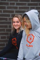 FLASH Hockey - MIRA HOODED SWEATER - Vrouwen -  Grijs - Maat L