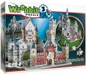 Neuschwansten kasteel - 3D puzzel - 890 Stukjes