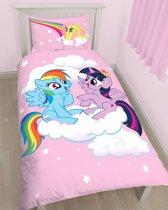 My little Pony Equestria - Dekbedovertrek - Eenpersoons - 135 x 200 cm - Roze