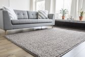 Hoogpolig Vloerkleed Shaggy Collection 80x150 - Beige