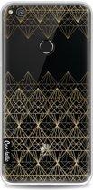 Casetastic Softcover Huawei P8 Lite (2017) - Golden Diamonds