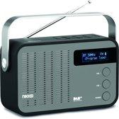 Nikkei NDB40BK portable DAB+ radio met PLL FM, Bluetooth en ingang voor usb, Micro sd en aux
