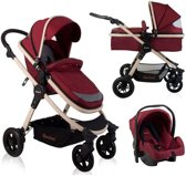 Kinderwagen Baninni Ayo Misty Red (incl. autostoel)