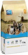 Carocroc Kitten - Kip - Kattenvoer - 2 kg