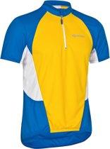 Gonso fietsshirt Jersey korte mouwen geel Maat S