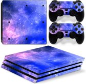 Galaxy - PS4 Pro Console Skins PlayStation Stickers