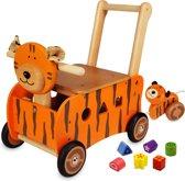 Loop/duwwagen tijger