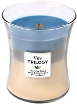 Woodwick trilogy candle medium Nautical Escape