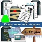 Escape Room voor kinderen - Expeditie Noordpool - kinderfeestje - breinbreker - 8 t/m 12 jaar - compleet draaiboek - print zelf uit!