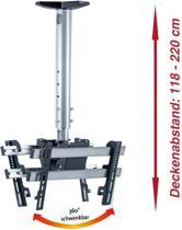VCM TV-plafondbeugel voor het ophangen van 2 TV's. TDH3 Maxi Dubbel
