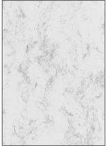 designpapier Sigel A4 90grs pak a 25 vel marmer grijs