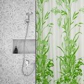 Roomture - douchegordijn - Grass - 240 x 200 - extra breed
