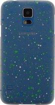 Xccess Cover Spray Paint Glow Samsung Galaxy S5 Blue
