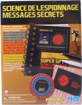 4m Kidzlabs Spy Science Geheime Boodschap 17-delig
