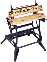 BLACK+DECKER Workmate Opvouwbare Werkbank WM825 – 2 Werkhoogtes – Tot 250kg Belastbaar
