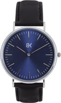 BK AMSTERDAM - Classic Blue Dam Horloge