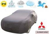 Autohoes Grijs Polyester Stretch Mitsubishi Galant 1997-2004