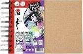 Ringboek mixed media dina5 300g aquarell papier