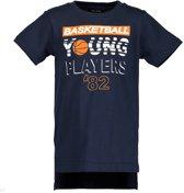 Blue Seven Jongens t-shirt - donkerblauw - Maat 116