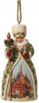 Jim Shore: Russische kerstman (hangend ornament) Beelden & Figuren