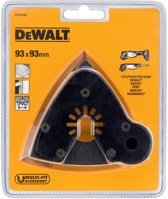 DeWalt DT20700 universeel multitool schuurplateau - 93x93x93mm