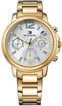 Tommy Hilfiger TH1781742 Horloge - Staal -goudkleurig PVD - Goudkleurig - 40 mm