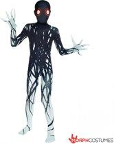 Morphsuits™ Kids Zalgo - SecondSkin - Verkleedkleding - 120/138 cm