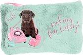 Studio Pets Making Fun Today - Pluche etui - 12,7 x 20 cm - Multi