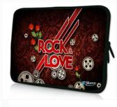 Sleevy 15,6 inch laptophoes Rock Love