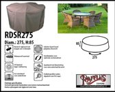 Ronde afdekhoes voor tuinset Ø: 275 H: 85 cm
