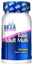 Basic Adult Multivitamin Haya Labs 100tabl