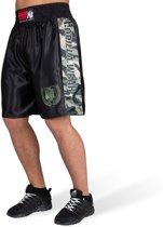 Gorilla Wear Vaiden Boxing Shorts - Legergroen Camo - L