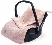 Jollein Comfortbag - groep 0+ 3/5 punts River knit pale pink