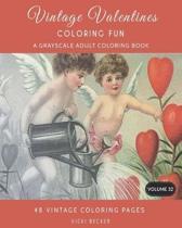 Vintage Valentines Coloring Fun