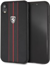 Zwart Ferrari Backcover hoesje voor Apple iPhone XR - Urban Off Track