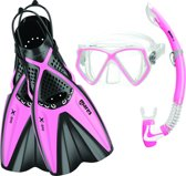 Mares X-One Pirate Roze Snorkelset S