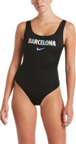 Nike Swim U-Back One Piece Dames Badpak - Barcelona - Maat XS