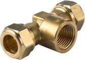 VSH knelkoppeling - T-stuk - 22 x 1/2 x 22 mm - 1 st