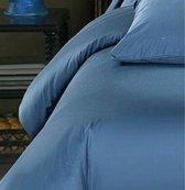 Homéé® Hotel dekbedovertreksets - m. blauw - 100% Katoen 1 persoon 140x200/220 + 1 sloop 60x70cm