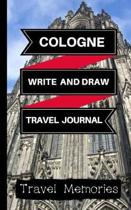 Cologne Write and Draw Travel Journal
